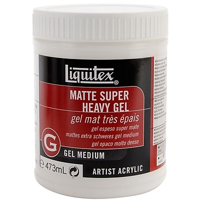 Reeves™ 16 oz. Liquitex Super Heavy Matte Acrylic Gel Medium