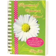 Inspiration Station 6314 Inspiration Station Progressions of Expressions Volume 1 Book