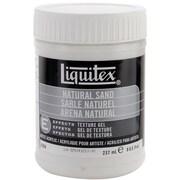 Reeves Liquitex Non-toxic 8 oz. Natural Sand Acrylic Texture Gel (6508)