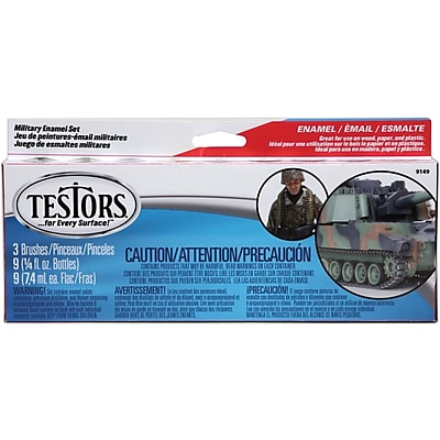 Testors® Enamel Military Paint Set