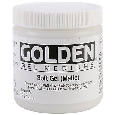 Golden 8 oz. Soft Gel Medium, Matte
