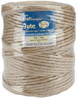 Darice 34032D Natural 648' Craft Designer Jute