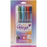 Sakura® 6 Piece Gelly Roll 3 Dimensional Glaze Pens