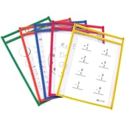 "C-Line CLI41610 9"" x 6"" Reusable Dry Erase Pocket"
