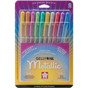 Sakura® 10 Piece Metallic Gelly Roll Medium Point Pen