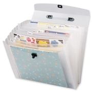 Generations Memory File Expandable Storage Case, Frost