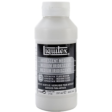Reeves Liquitex Non-toxic 8 oz. Iridescent Acrylic Fluid Medium (107008)