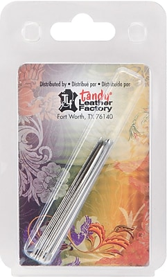 Tandy Leather Factory 119111 Gray/Silver Glover's Needles, 4.75