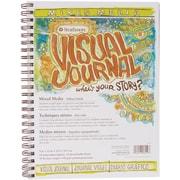 "Strathmore 9"" x 12""  Visual Journal Spiral Bound, Mixed Media Vellum"
