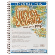 "Strathmore 9"" x 12"" 140 Watercolor  Visual Journal Spiral Bound"