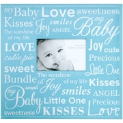 "MBI® Expressions Baby Expression Postbound Album With Window, 12"" x 12"", Blue"