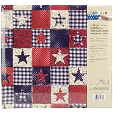 MBI® Expressions American Stars Postbound Album, 12