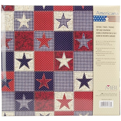 MBI® Expressions American Stars Postbound Album, 12