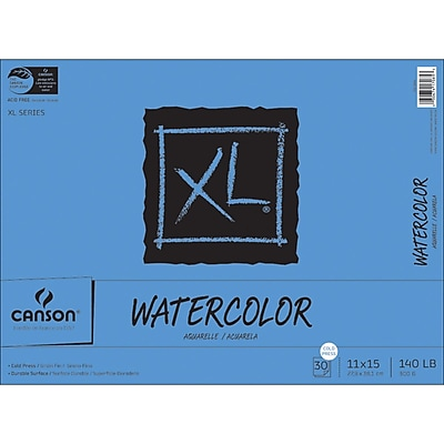 Canson XL Watercolor Paper Pad, 11