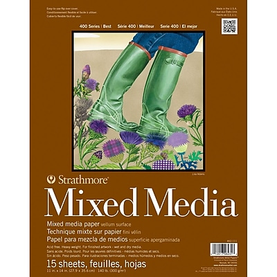 Pro Art Strathmore Mixed Media Paper Pad, 11