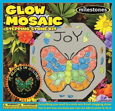 Midwest Products 90111244 Multicolor Kids Glow Mosaic Stone Kit