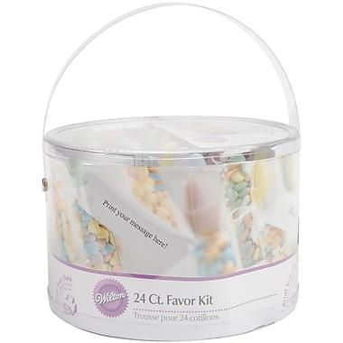 Wilton® Baby Bottles Favor Kit, Multi Pastel, 24/Pack