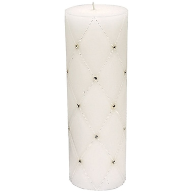 Wilton® Graceful Wedding Day Collection Unity Candle, White