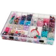 Darice® Plastic 35 Cavity Storage Box, Clear