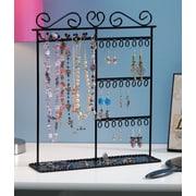 "Darice® 12"" x 3 1/2"" x 14"" Metal Jewelry Display Shelf, Black"