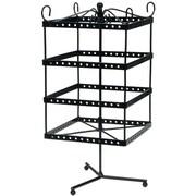 "Darice® 6"" x 6"" x 13"" Metal Jewelry Display Shelf, Black"