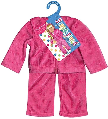 Fibre Craft® Springfield Collection® Velour Sweatsuit For 18