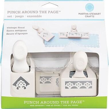 Martha Stewart Crafts® Punch Around the Page Set, Deco Flowers, 1.8