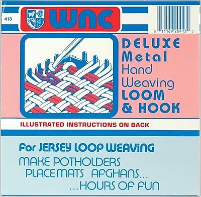Wool Novelty Deluxe Hand Weaving Loom & Hook