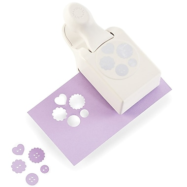 Martha Stewart Crafts® Large Double Punch, Buttons, 0.75