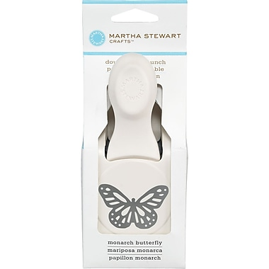 Martha Stewart Crafts® Large Double Punch, Monarch Butterfly, 1 1/4