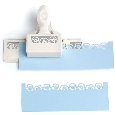 Martha Stewart Crafts® Around The Page Punch, Pansy Edge Punch, 1 3/4