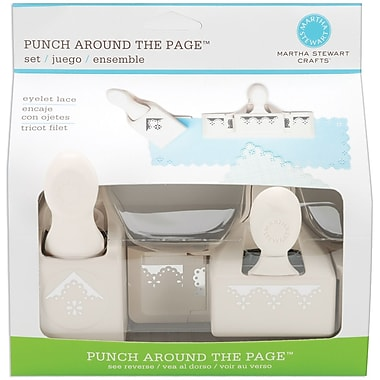 Martha Stewart Crafts® Punch Around The Page Set, Eyelet Lace, 7