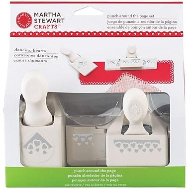 Martha Stewart Crafts® Punch Around the Page Set, Dancing Hearts, 2