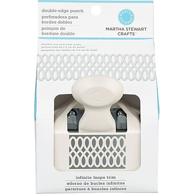 Martha Stewart Crafts® Plastic Deep Edge Punch, Double Loop Weave, 2.5