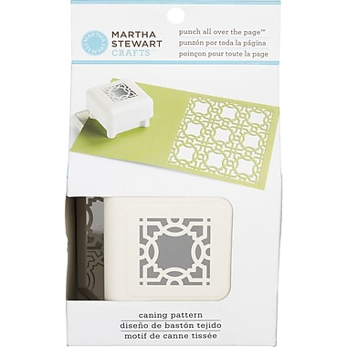 Martha Stewart Crafts® All Over the Page Punch, Caning Pattern, 1 1/2