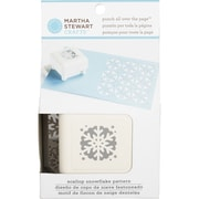 "Martha Stewart Crafts® All Over the Page Punch, Scallop Snowflake, 1 1/2"" x 1 1/2"""