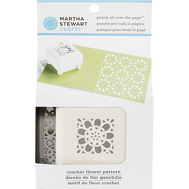 Martha Stewart Crafts® All Over the Page Punch, Crochet Flower, 1 1/2