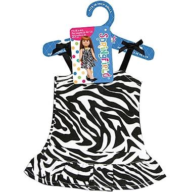 Fibre Craft® Springfield Collection® Zebra Dress For 18