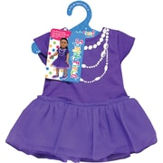 "Fibre Craft® Springfield Collection® Casual Dress For 18"" Dolls, Purple"