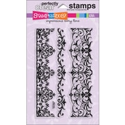 "Stampendous® 4"" x 6"" Perfectly Clear Stamp, Elegant Borders"