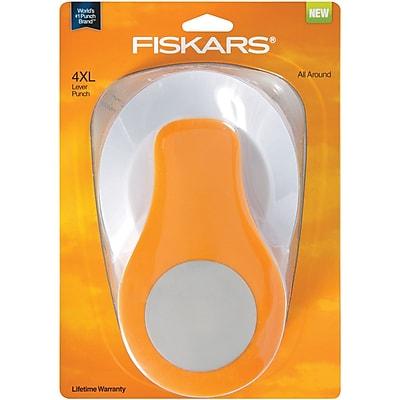 Fiskars® 4XL Lever Punch, Circle, 3 1/2