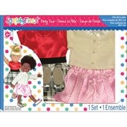 "Fibre Craft® Springfield Collection® Polka Dot Party Time Gift Set For 18"" Dolls"