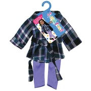 "Fibre Craft® Springfield Collection® Tunic and Leggings Party Dress For 18"" Dolls, Purple/Lavender"