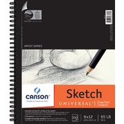 "Pro Art Canson Universal Spiral Sketch Book, 9"" x 12"""