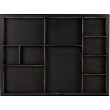 7 Gypsies® Shadowbox Tray, Black