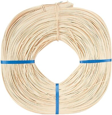 Commonwealth Basket 150' Round Reed Coil, 1 lbs.