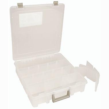 ArtBin® Super Satchel™ Compartment Box With Removable Dividers, Translucent