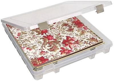 ArtBin® Super Satchel™ Slim 1 Compartment Box, Translucent