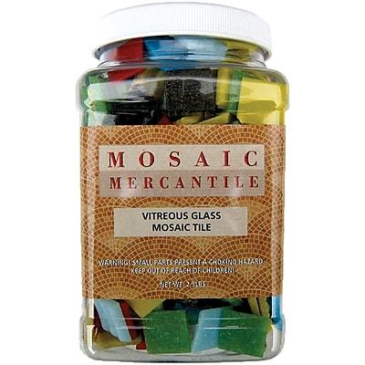 Mosaic Mercantile ASTJR Multicolor Vitreous Glass Mosaic Tile