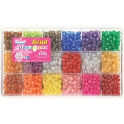Beadery Giant Extravaganza Bead Box Kit, All Sparkle, 2300 Beads/Pack